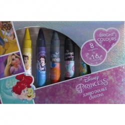Dwustronne kredki świecowe Disney Princess