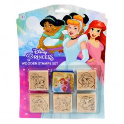 Pečiatky 5 + 1 Disney Princezné