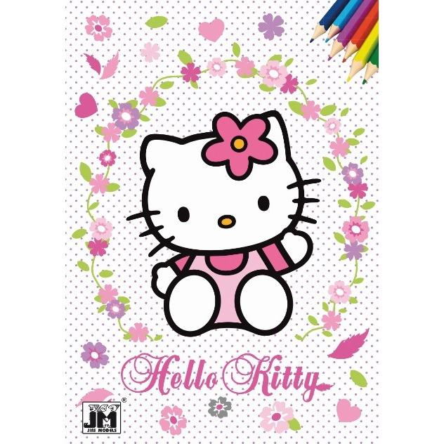 Omalovánka A5 Hello Kitty