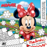 omalovánka Minnie - Malování pro nejmenší