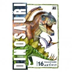omalovánka A4 Dinosauři