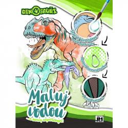 omalovánka A4 Maluj vodou Dinosaury