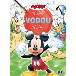 Omalovánka A4 Maluj vodou Mickey Mouse