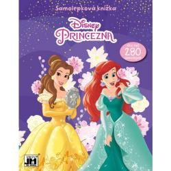 Knižka Samolepková Disney Princezné
