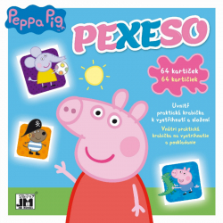 Pexeso v zošite Prasiatko Peppa