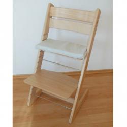 Dětská rostoucí židle JITRO KLASIK přírodní bez laku