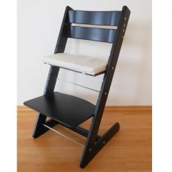 Rosnące krzesełko JITRO KLASIK czarne