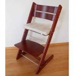 Rosnące krzesełko JITRO KLASIK mahoń