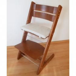 Detská rastúca stolička JITRO KLASIK orech