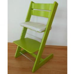 Rosnące krzesełko JITRO KLASIK jasnozielone