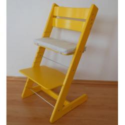 Rosnące krzesełko JITRO KLASIK żółte