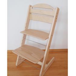 Rosnące krzesełko JITRO BABY nielakierowne