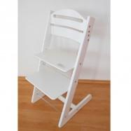Dětská rostoucí židle JITRO BABY bílá
