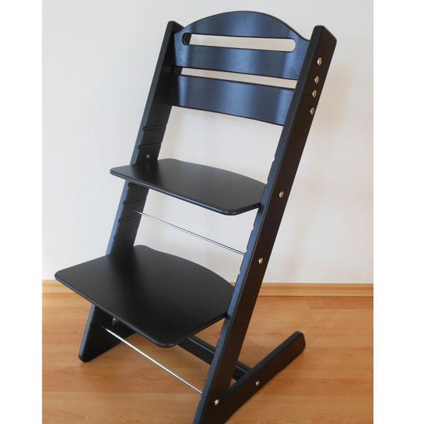Dětská rostoucí židle JITRO BABY černá