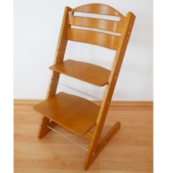 Rosnące krzesełko JITRO BABY dąb