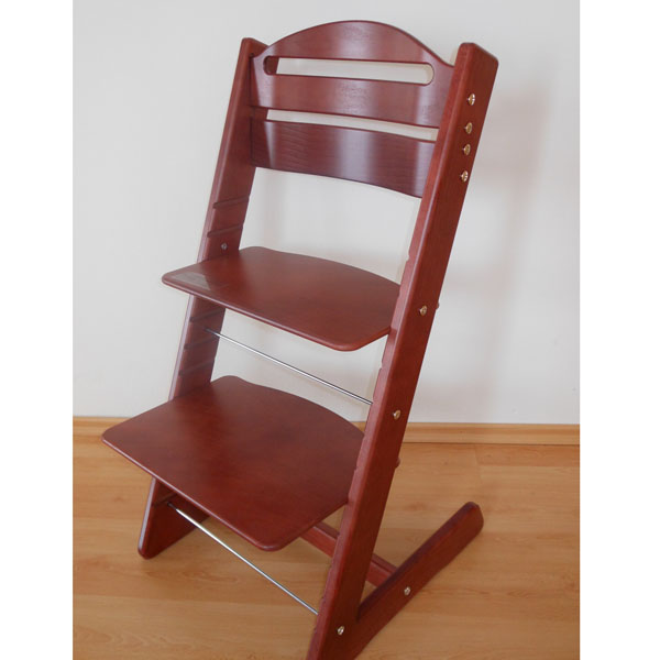 Dětská rostoucí židle JITRO BABY mahagon