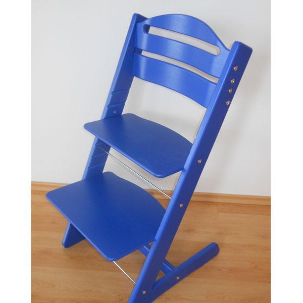 Rosnące krzesełko JITRO BABY niebieskie