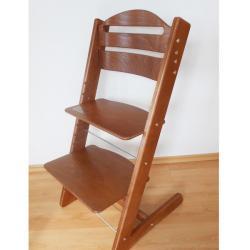 Rosnące krzesełko JITRO BABY orzech