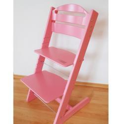 Rosnące krzesełko JITRO BABY różowe