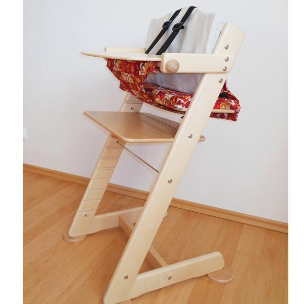 Sada jídelní pultík, kalhotky a stabilizační botičky k židli Jitro