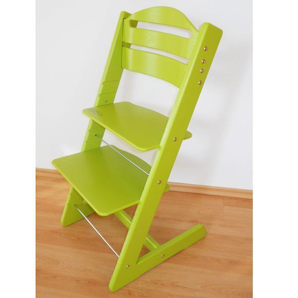 Rosnące krzesełko JITRO BABY jasnozielone