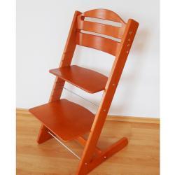 Rosnące krzesełko JITRO BABY czereśniowe