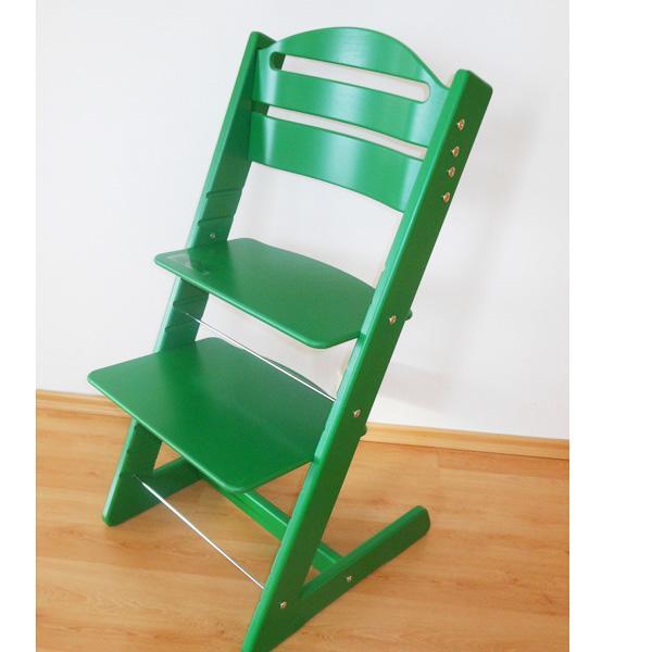 Dětská rostoucí židle JITRO BABY zelená