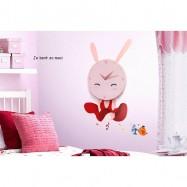 Dětské hodiny Roztomilý králíček JP-HYGZ0O4