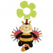 Úchyt na kočárek - natahovací, bzučící včelka v displeji po 12 ks