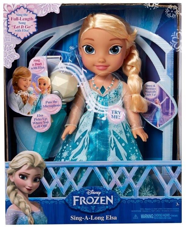 d36460c07 FROZEN Ledové království zpívající Elsa karaoke