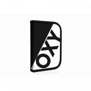Penál 1 p. 2 chlopně, prázdný OXY NEON LINE Black & White 7-90218