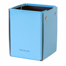 Kubek ołówkowy laminowany PASTELINI niebieski