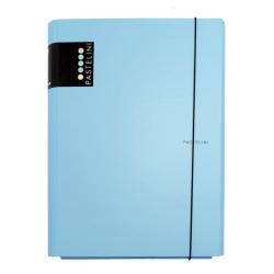 3klopé lamino desky s gumičkou PASTELINI modrá