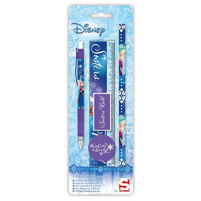 Blistr psací potřeby Frozen 3-169