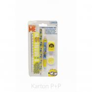 Blister písacie potreby Minions 3-170