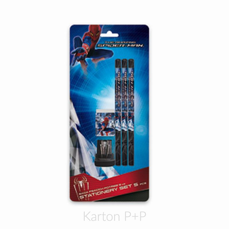 Blistr psací potřeby Spiderman 3-549X