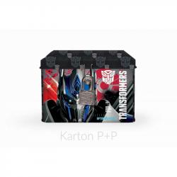 Pokladnička plechová Transformers 3-583