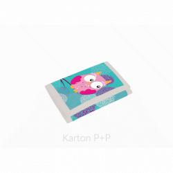 Detská textilná peňaženka Sova 3-58617