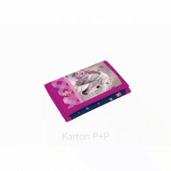 Detská textilná peňaženka kôň 3-59817