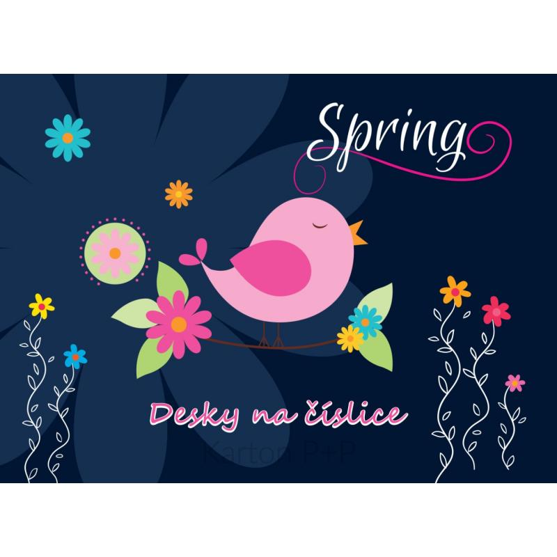 Desky na číslice Premium Spring 3-94017