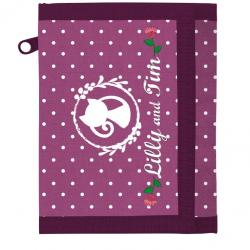 Detská textilná peňaženka Lilly