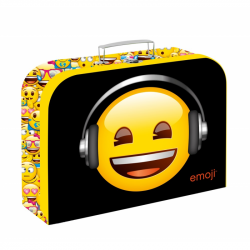 Kufrík lamino 34 cm Emoji