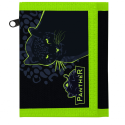 Portfel tekstylny dla dzieci Panter