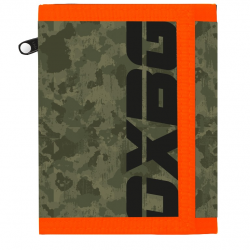 Peňaženka OXY Army / Orange