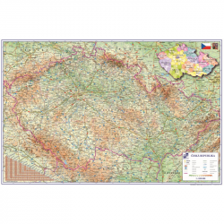 Podložka na stůl 60x40cm Česká republika 5-806