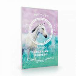 Desky na ABC kůň romantic