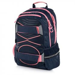 Studentský batoh OXY Sport PASTEL LINE pink