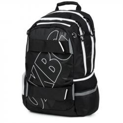 Plecak studencki OXY Sport BLACK LINE biały