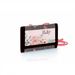 Detská textilná peňaženka Dolly 7-95518