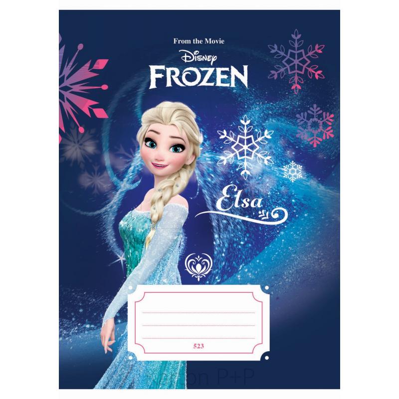 Sešit A5, 523, 20listů Frozen 7-484